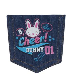 Cheer Bunny Pocket