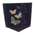 Butterflies Pocket