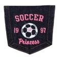 Soccer Princess Pocket