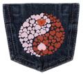 Yin Yang Hearts Pocket
