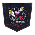 Love Dreams Friends Pocket