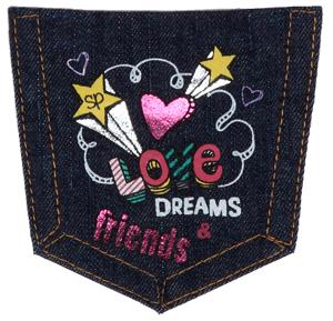 Love Dreams Friends Pocket