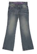 Regular Fit Jeans - Distressed Light Wash