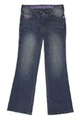 Regular Fit Jeans - Distressed Medium Wash